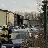 Feuer in Kfz-Werkstatt