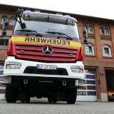 Neues Löschfahrzeug für den Feuerwehrstützpunkt West